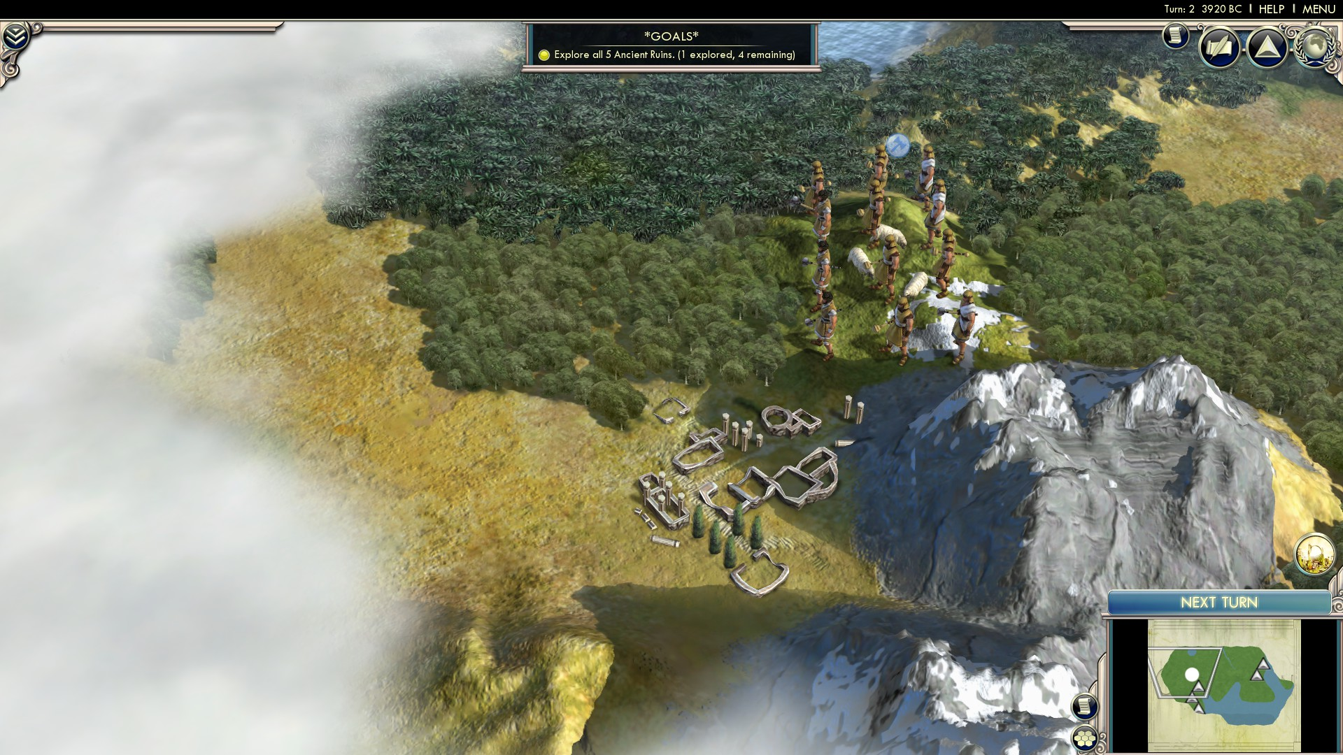 Civ 5 'Movement and Exploration' tutorial walkthrough